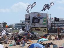 playa montoya, ideal para el surf en punta del este