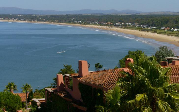 Playa Solanas en Punta del Este