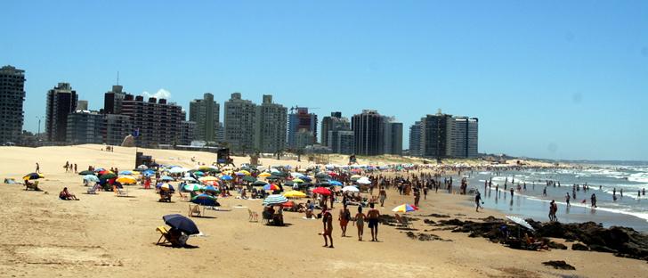 Playas en Punta del Este